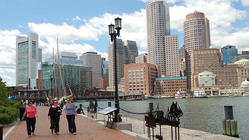 ボストン観光