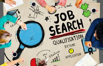 Job Search Qualification Resume Recruitment Hiring Application C
